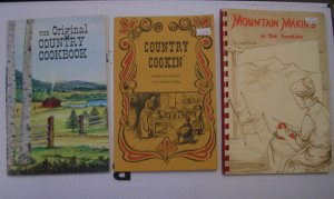 Country Cooking - 1 Lot of Country Cookbooks