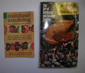 Outdoor Cooking, Art of Barbecue & Outdoor Cooking with Art of Salad Making 2 in 1 book
