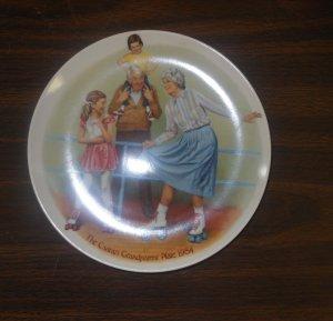 Knowles Csatari Grandparent Plate 1984 The Skating Queen