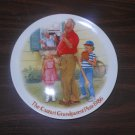 Knowles Csatari Grandparent Plate 1986 The Home Run