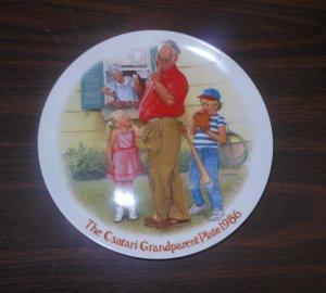 Knowles Csatari Grandparent Plate 1986 The Home Run