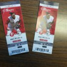 Cincinnati Reds ticket from 1000th game at Great American Ballpark