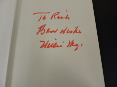Willie Mays My Life In and Out of Baseball, SIGNED, 1st Edition 1966