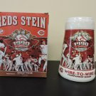 Cincinnati Reds 1990 25th Anniversary Stein NIB