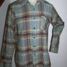 Mens Vintage Lord & Taylor The Alumni Shop Plaid Fall Button Up Shirt Chest 40""
