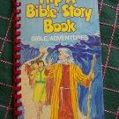 Vintage 1980's Flip A Bible Story Book Adventures Children's Scriptures Spiritual Stories