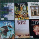 6 Lot Oklahoma Today Back Issue Magazines 1997 1998 1999 Special Traveler Boren