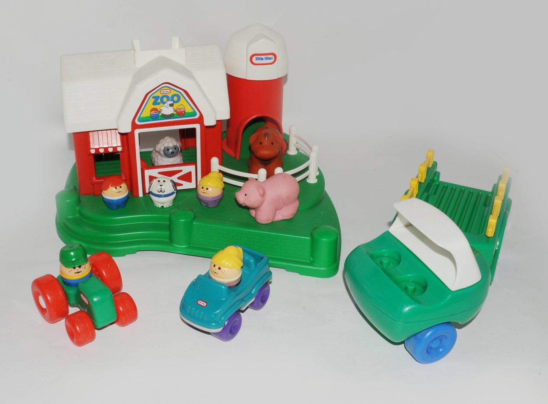 Vintage Little Tikes Farm Barn Amp Petting Zoo Super Rare