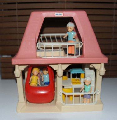 Little Tikes Vintage Grandma S Dollhouse