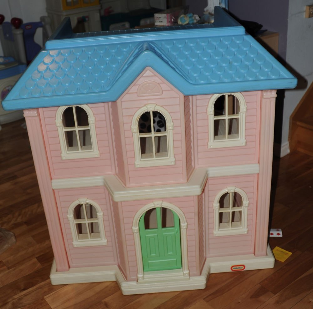 Little Tikes Vintage Barbie Dollhouse Completely Furnished