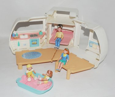 Fisher Price Loving Family Vintage Dollhouse Rv Camper Motorhome
