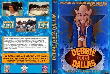 Debbie Does Dallas Trilogy -original classics - used 3-disc DVD set