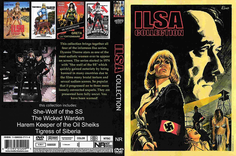 ILSA - Complete 4-DVD Series  Classic Sexploitation OOP DVD