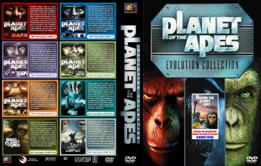 Planet Of The Apes complete 9-DVD set. All the movies PLUS