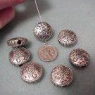 Southwestern Concho Style Beads 18mm x 81/2mm Bead Supplies DIY