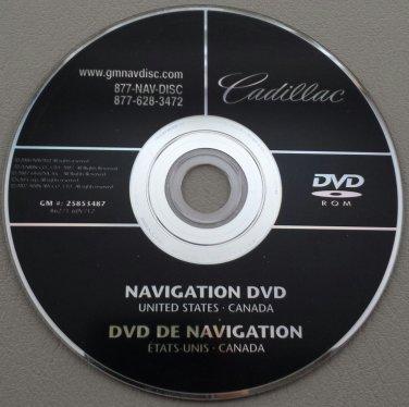 2007 2008 2009 2010 CADILLAC ESCALADE NAVIGATION DISC DVD CD ...