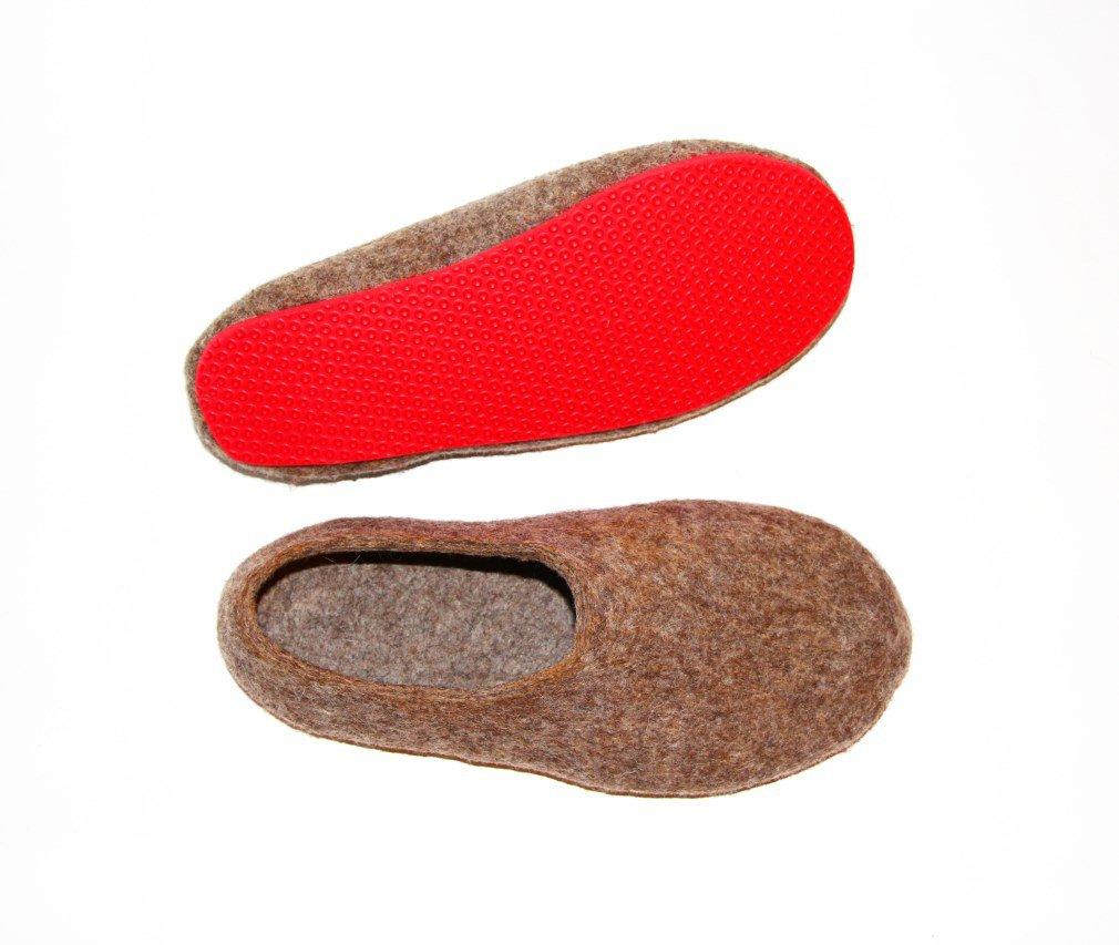 Organic Wool Slippers for Women