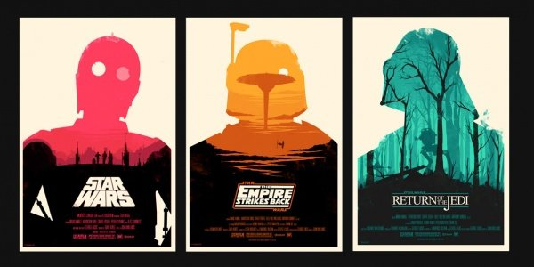 Olly Moss Star Wars Trilogy