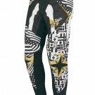 Acerbis Skeleton Motocross Pants with Gold Belt Size 28