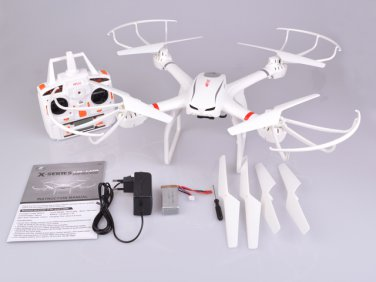 MJX X101 FPV Quadcopter 2.4G 4CH 6 Axis Gyro RC Drone With Headless Mode One key To Return RTF