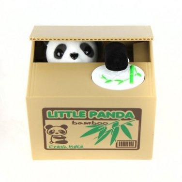 11.5cm Itazura Piggy Bank Stealing Coin Panda Bank