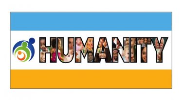 Official Humanity Flag - Double Sided