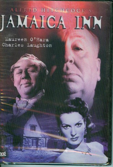 DVD - Jamaica Inn - Alfred Hitchcock's tale of a young orphan and pirates.
