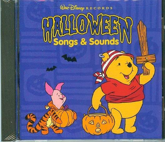 CD - Halloween Songs & Sounds
