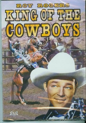DVD - King of the Cowboys - Roy Rogers