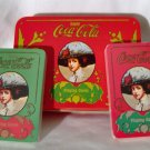 Coca-Cola Playing Cards with Decorative Storage Tin