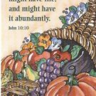 Harvest Prayer Card