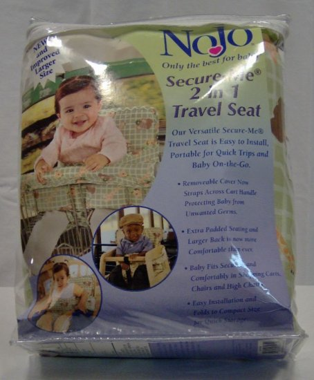 NoJo Secure-Me 2 in 1 Travel Seat