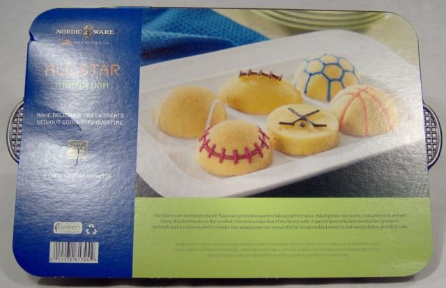 Nordic Ware All Sports Muffin and Cupcake Pan
