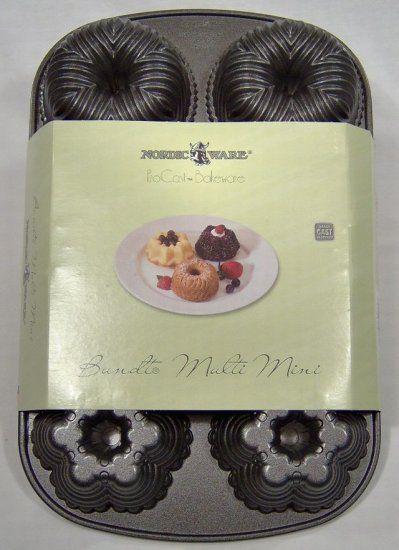 Nordic Ware Bundt Cake Multi Mini Pan