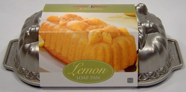 Nordic Ware Lemon Loaf Cake Pan
