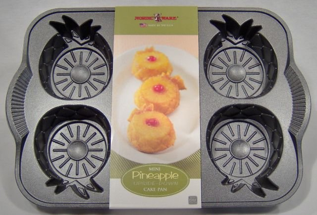 Nordic Ware Mini Pineapple Upside Down Cake Pan