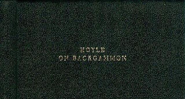 Hoyle on Backgammon