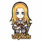 Cute League of legends Iron On for T-shirt
