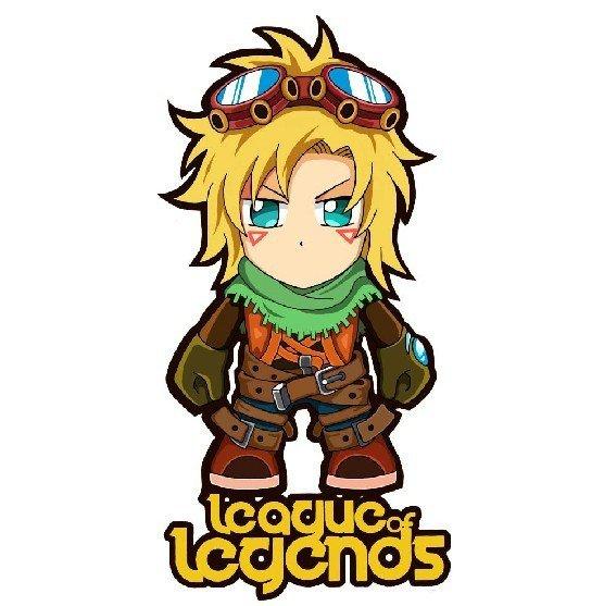 League of legends Iron heat press sticker