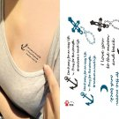 Cross temporary tattoo, fake tattoo sticker