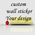 Custom Wall decal, no printing wall tattoo type decor