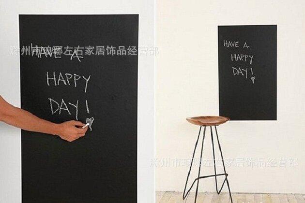 Long blackboard decal