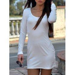 White Sleek Dress