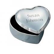 Heart Shaped Jewlery Box
