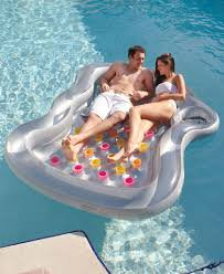 Two People Float