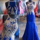 White blue and white Dress