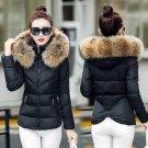 Black Coat with Faux Fur