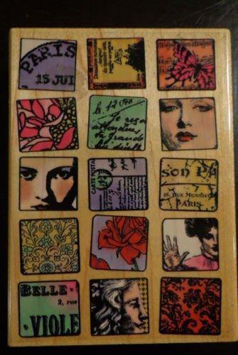 Hampton Art Stamps Paris Memories