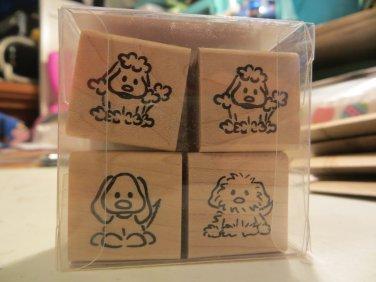 Playful Puppies stamp set