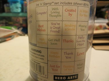 Hero Arts ''Messages''.